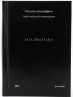 Vazba diplomové práce - kombinace černá/stříbrná