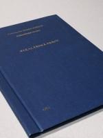 Vazba diplomové práce PLÁTNO– kombinace modrá/zlatá